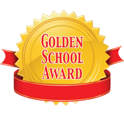 We have a Gold School Award!