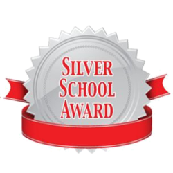 We have a Silver School Award!