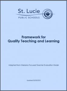 Framework for Quality Instruction