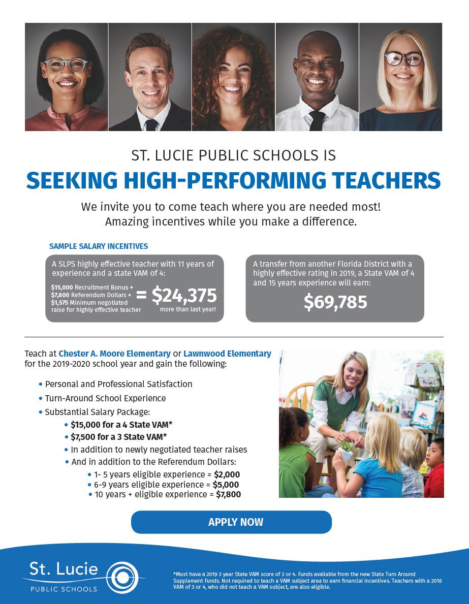 Seeking High Performing Teachers