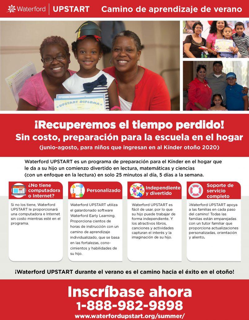 UPSTART Summer 2020 – Spanish